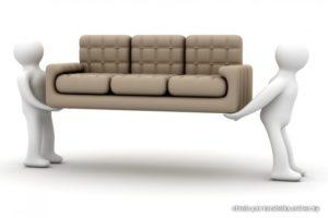 утилизация дивана с грузчиками