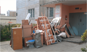 Цены на утилизацию мебели и бытовой техники